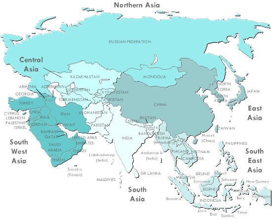 Awesome Free Map Of Asia Pictures Printable Map New